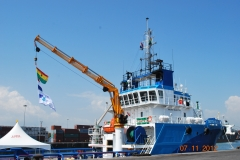 Launching of Dutch Blue at Tema 2012
